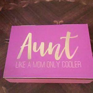 Aunt gift